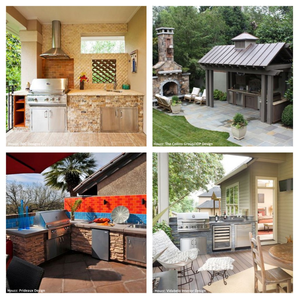 Tips For Building Outdoor Kitchens