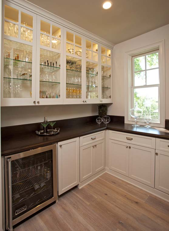 Custom Kitchens WineFridge_Butlers Pantry
