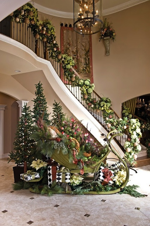 Awesome Holiday Decoration Ideas Part - 4: Homes By Tradition