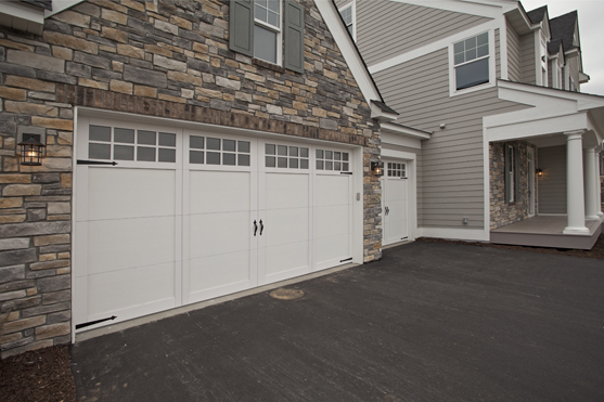 PRE FINISHED STAIN U2013 All Garage Door Manufacturers Make A Steel Door With  Prefinished Stain Colors, But The Clopay Gallery Collection Looks The Best.