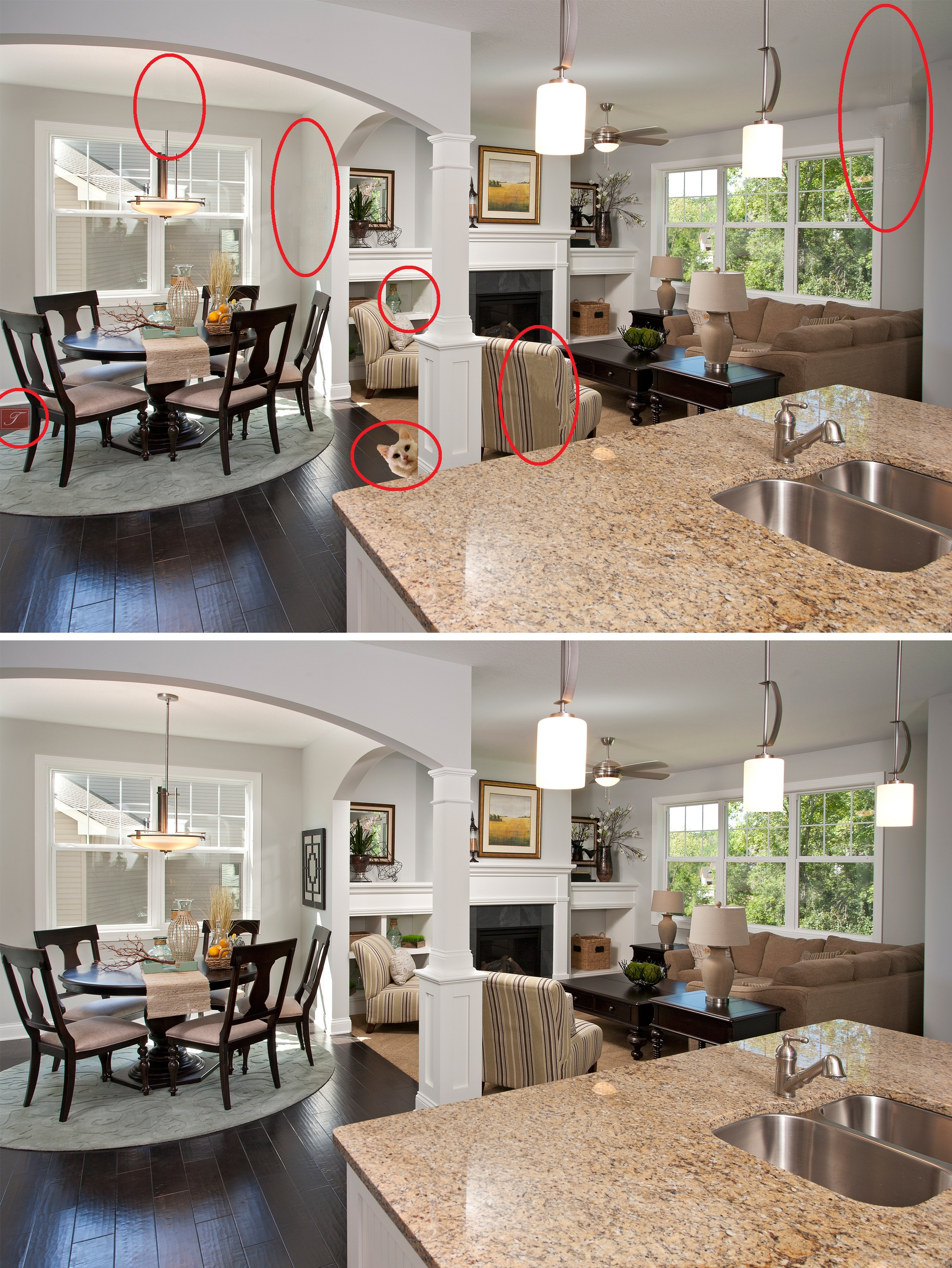 Spot The Difference Answers Custom Home Builders Amp New