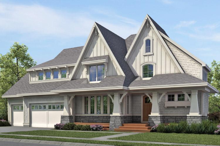 custom model homes mn