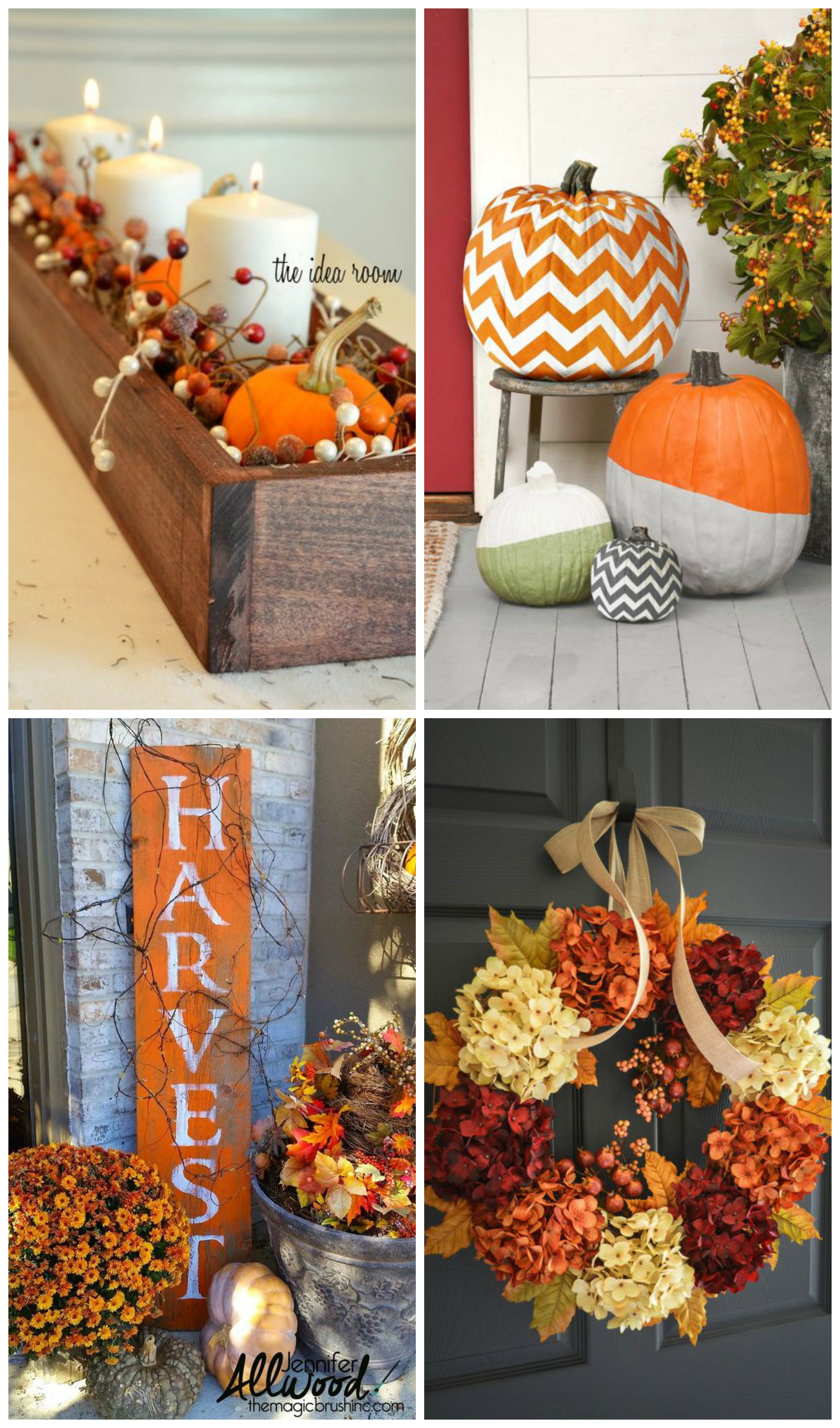 Fun Fall Decor Ideas - Custom Home Builders & New Home ...