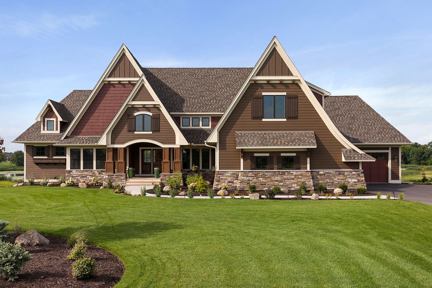 Custom Home Exteriors Custom Home Builders Amp New Home Communities In Lakeville And Minneapolis Mn