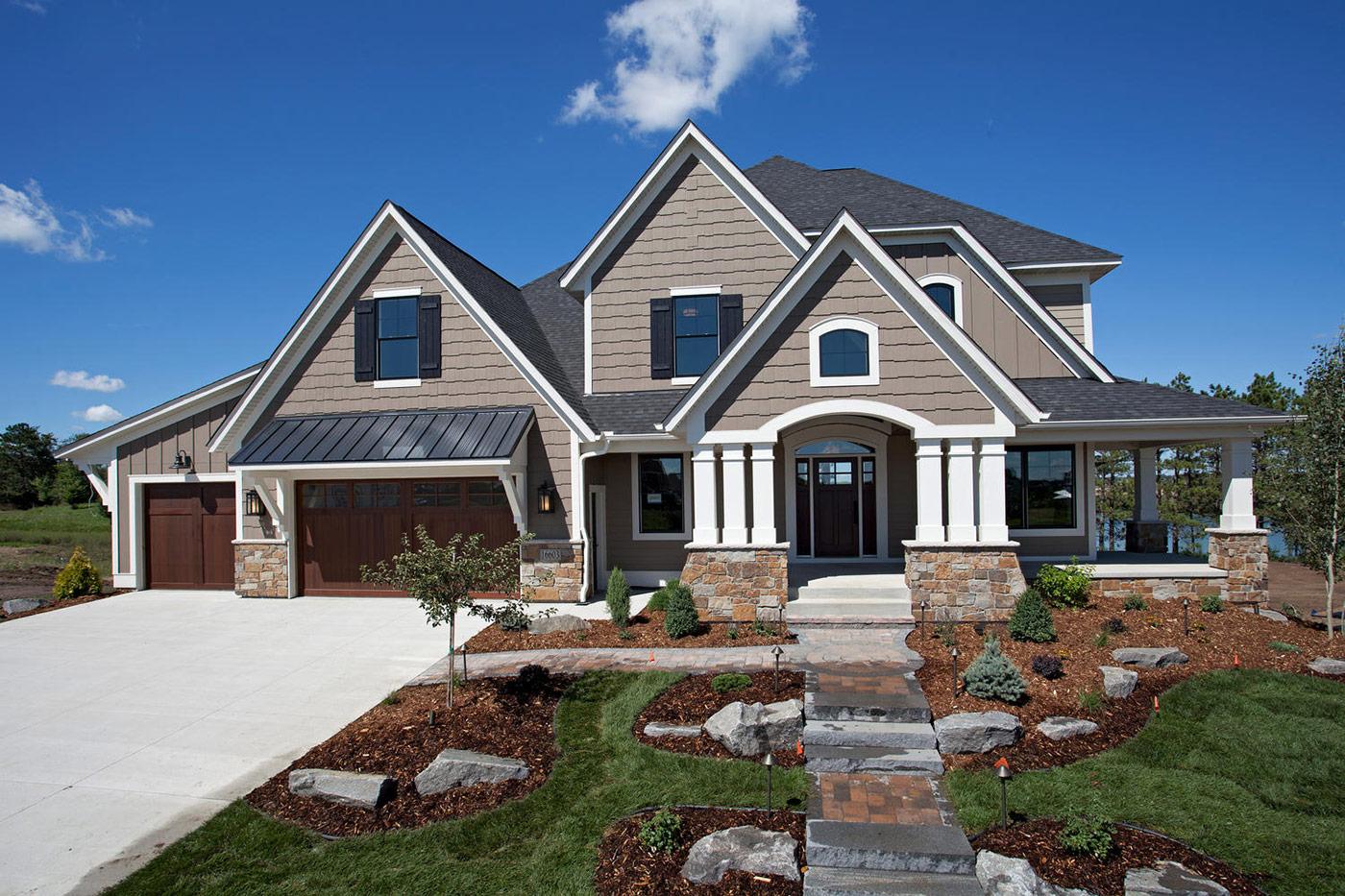 Custom Home Exteriors Custom Home Builders New Home Communities
